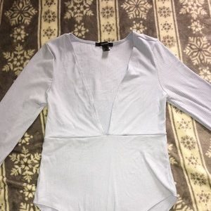 Forever 21 Other - Light blue bodysuit very good condition